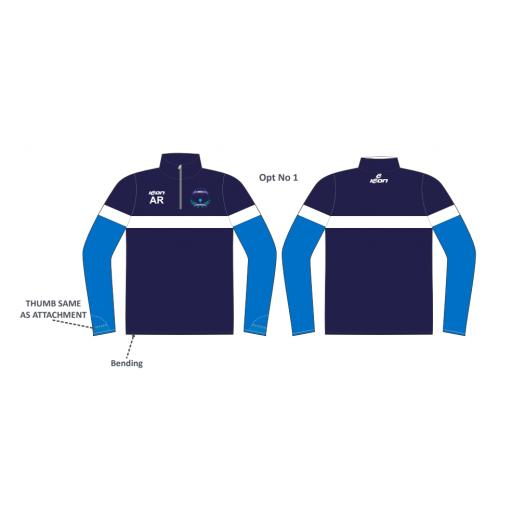 Bracebridge Heath CC 1/4 Zip Sublimated Training Top