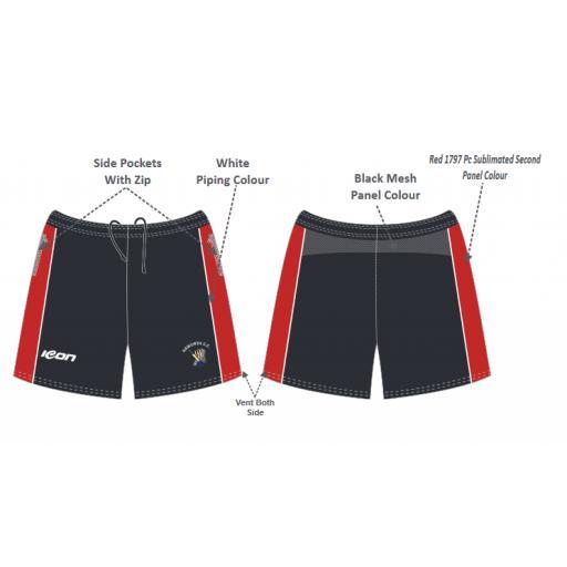 Haworth CC Training Shorts