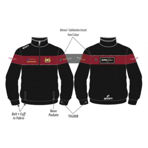 Crompton CC Training Jacket - 1/4 Zip