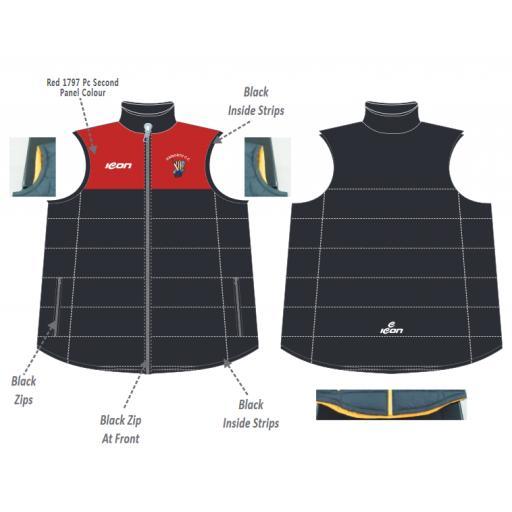 Haworth CC Puffer Vest