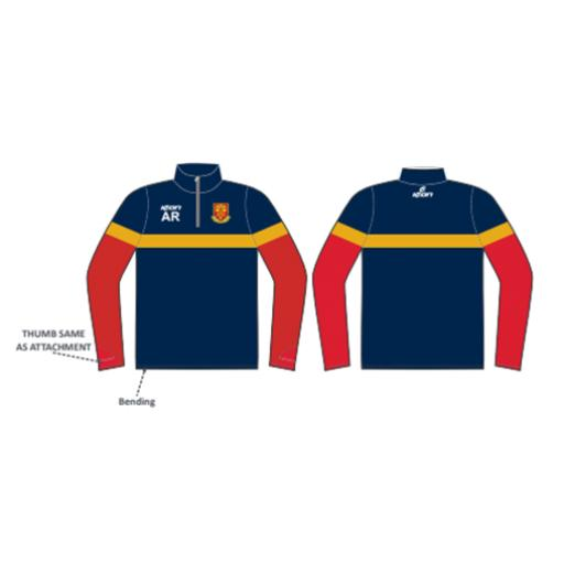 Pool CC 1/4 Zip Sublimated Training Top