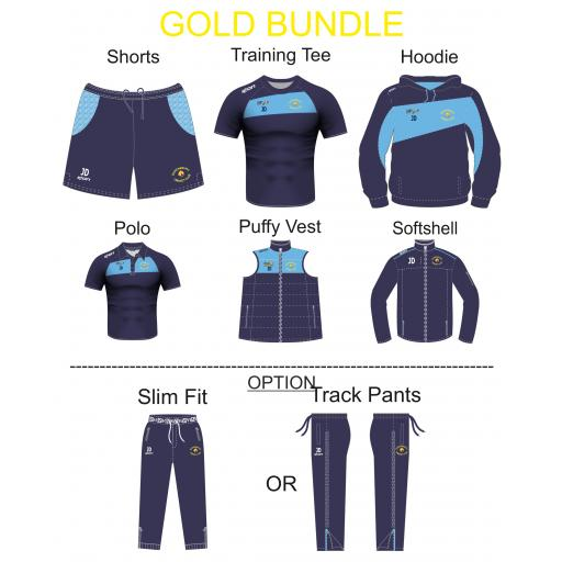 Queensbury CC Gold Bundle