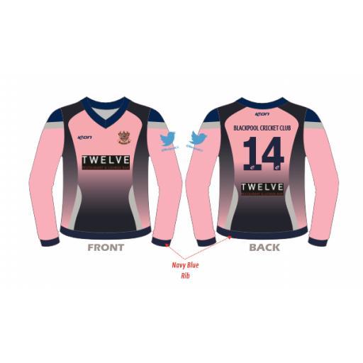 Blackpool CC T20 Sweater - Long Sleeve
