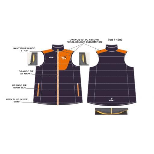 CricX Puffer Vest