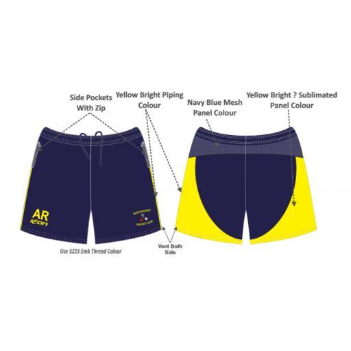 Micklehurst CC Training Shorts