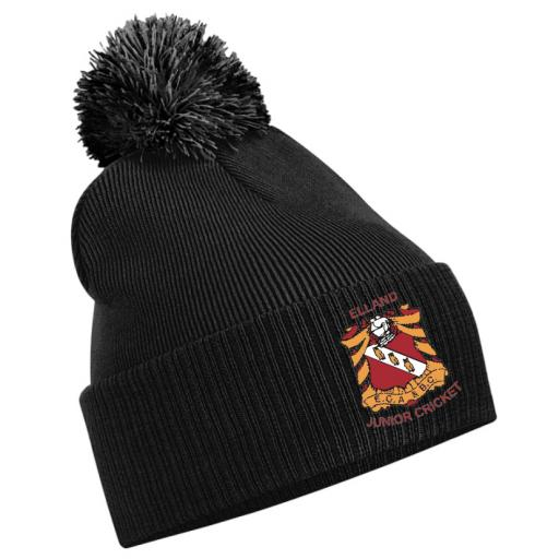Elland CC Junior Beanie Hat