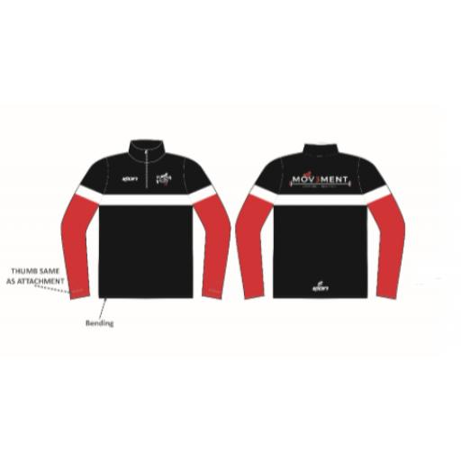 Mov3ment Sublimated 1/4 Zip Jacket