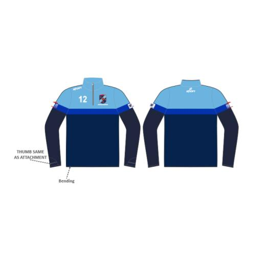 Bamford Fieldhouse CC 1/4 Zip Sublimated Training Top