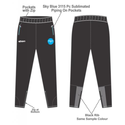 Opening Up Skinny Fit Track Pant