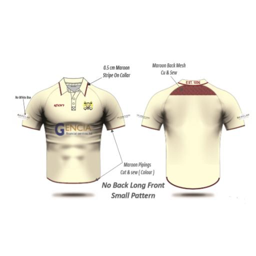 Crompton CC Playing Shirt - Short Sleeve