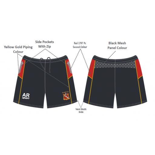Elland CC Senior Training Shorts