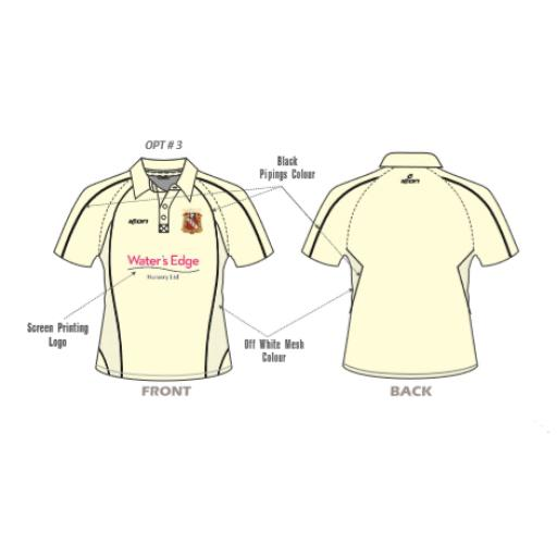 Elland CC Senior Playing Shirt - Short Sleeve