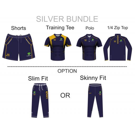 Colwyn Bay CC Silver Bundle