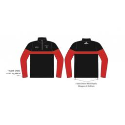 Haworth CC 1/4 Zip Sublimated Training Top