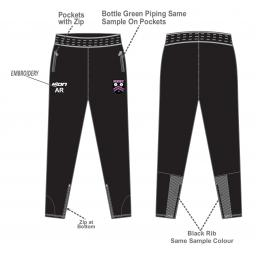 Lascelles Hall CC Skinny Fit Track Pants