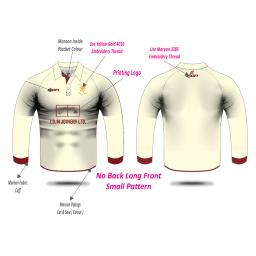 Woodhouses CC Playing Shirt - Long Sleeve