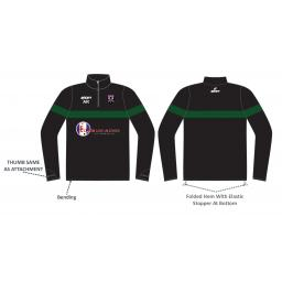 Lascelles Hall CC Sublimated Training Jacket - 1/4 Zip