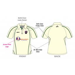 Lascelles Hall CC Playing Shirt - Short Sleeve