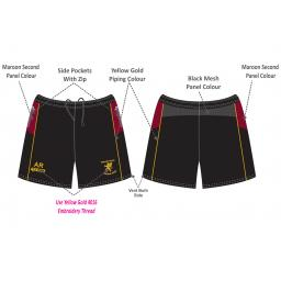 Woodhouses CC Training Shorts