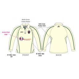 Lascelles Hall CC Playing Shirt - Long Sleeve