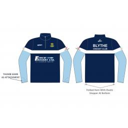 Blythe CC 1/4 Zip Sublimated Training Top