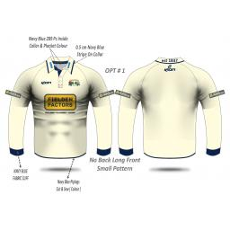 Todmorden CC JUNIOR Playing Shirt - Long Sleeve