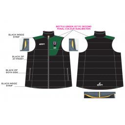 Lascelles Hall CC Junior Puffer Vest