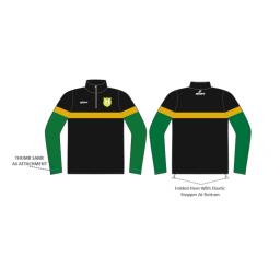 Milnrow CC 1/4 Zip Sublimated Training Top