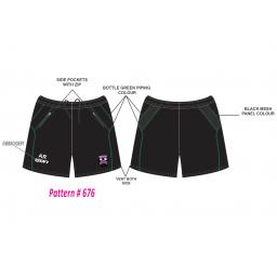 Lascelles Hall CC Junior Training Shorts