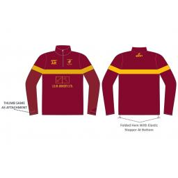 Woodhouses CC 1/4 Zip Sublimated Training Top