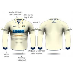 Todmorden CC SENIOR Playing Shirt - Long Sleeve
