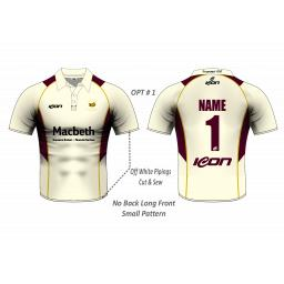 Eversley CC Playing Shirt - Short Sleeve