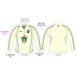 Lascelles Hall CC Junior Playing Shirt - Long Sleeve