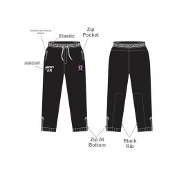 Lascelles Hall CC Junior Slim Fit Track Pants