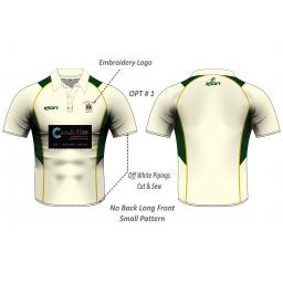 Stalybridge St Pauls CC Playing Shirt - Short Sleeve