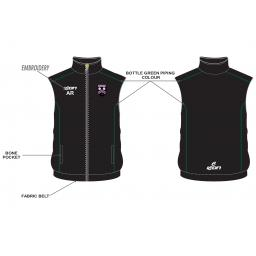 Lascelles Hall CC Junior Gilet