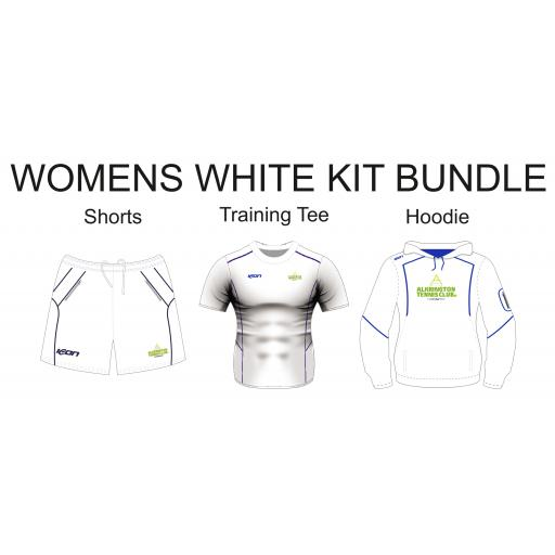 Alkrington Tennis Club Womens Bronze Bundle - White