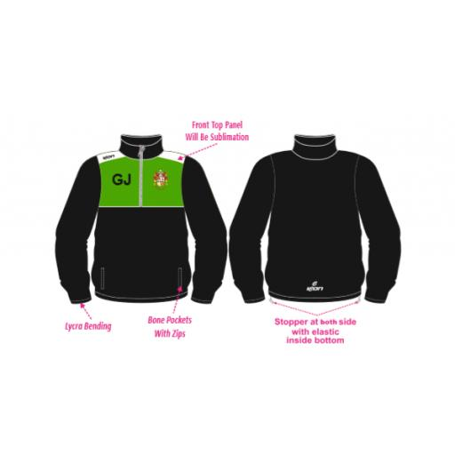 Middleton CC 1/4 Zip Jacket