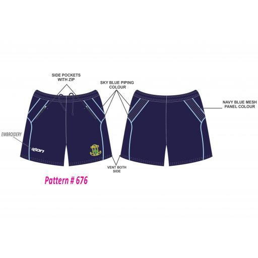 Blythe CC Training Shorts