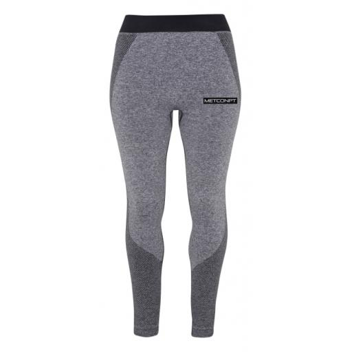 METCONPT Womens Leggings - Charcoal