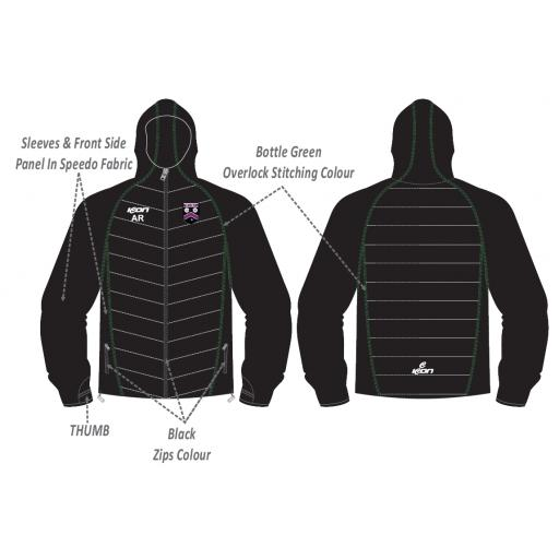 Lascelles Hall CC Puffy Jacket/Speedo Sleeves