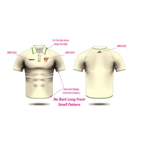 Middleton CC Playing Shirt - Short Sleeve