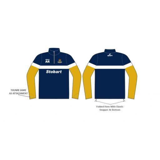 Northern CC 1/4 Zip Sublimated Training Top