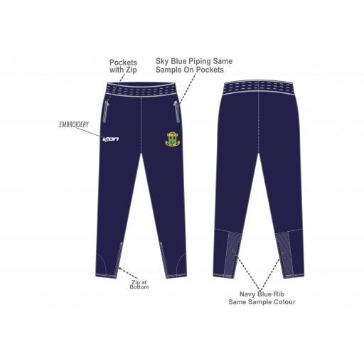 Blythe CC Skinny Fit Track Pants