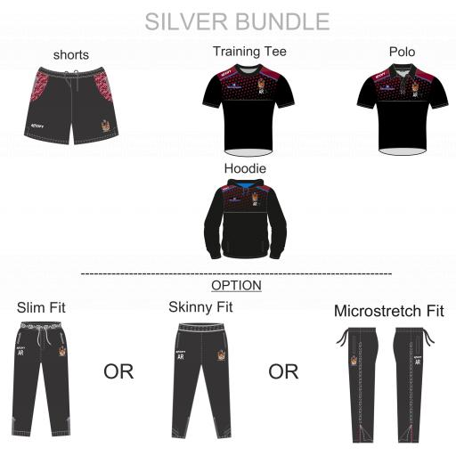 Atherton CC TRAINING KIT BUNDLE - SILVER