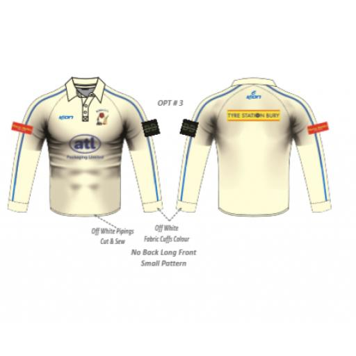 Elton CC SENIOR Playing Shirt - Long Sleeve