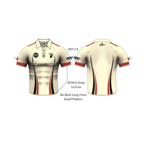 Haworth CC Playing Shirt - Short Sleeve