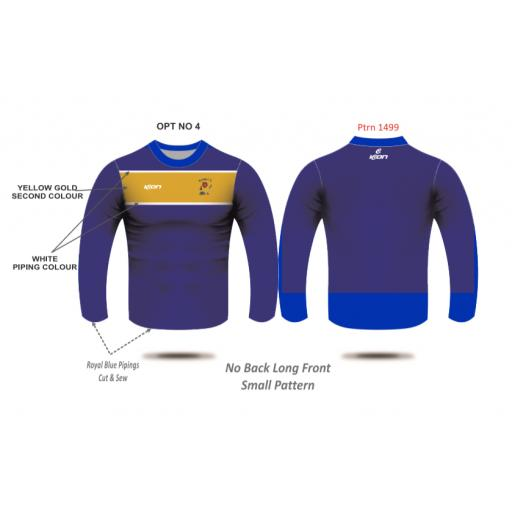 Elton CC Training T-shirt - Long Sleeve