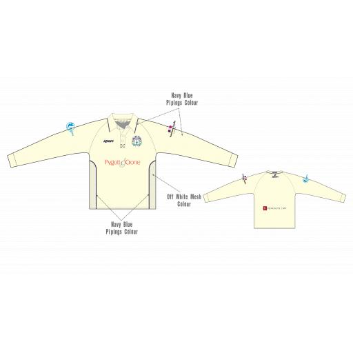 Bracebridge Heath CC Playing Shirt - Long Sleeve