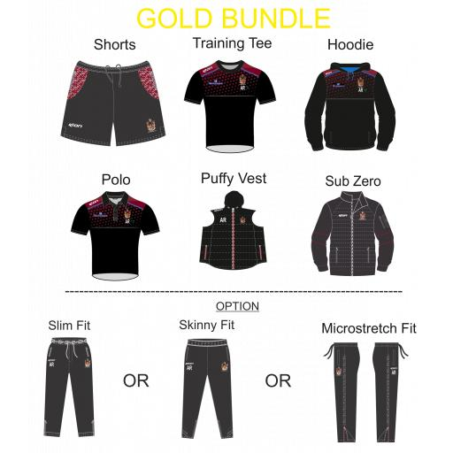 Atherton CC TRAINING KIT BUNDLE - GOLD